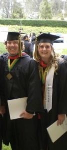 With my husband, Tyler, at our college graduation from Concordia University in Irvine, California...
